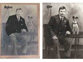 Photo restoration service and Photo editing