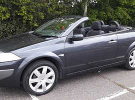 Renault Megane convertible new mot 59k lovely drive