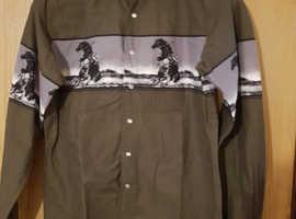 Wrangler western cowboy shirt