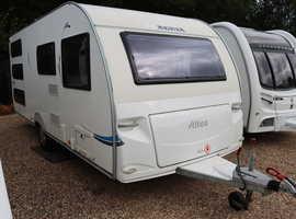 Adria Altea 542/TD 2010 6 Berth Fixed Triple Bunk Beds Caravan + 3 Months Warranty Included