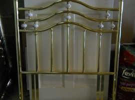 brass coloured