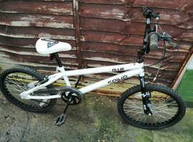 Bmx bike 20inch wheel hardly used