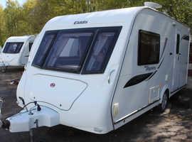 Elddis Odyssey 462 2010 2 Berth Caravan + Motor Mover + 3 Months Warranty Included