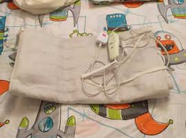 Complete Bedding Duvet Set Boys Space rocket Single Duvet Electric Blanket