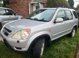 Honda CR-V, 2003 (52) Silver Estate, Manual Petrol, 146,000 miles