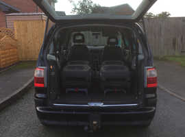 Ford Galaxy, 2003 (53) Black MPV, Manual Diesel, 155,300 miles