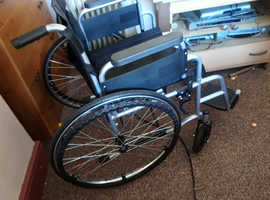 I have 2 fold up wheelchairs like new