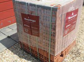 Approx 1.5 pallets of Wieneberger Engineering Bricks