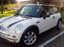Mini MINI, 2003 (53) White Hatchback, Cvt Petrol, 98,000 miles