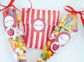 Sweet cones and confectionery
