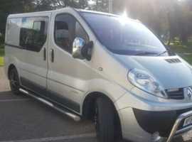 Vauxhall traffic campervan