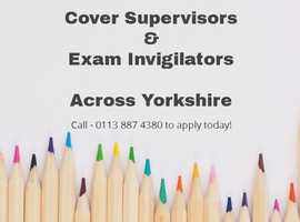 Wanted - Cover Supervisors & Exam Invigilators