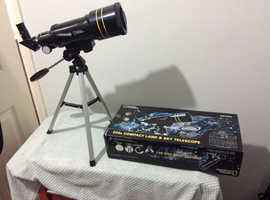 Never used compact telescope
