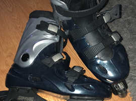 Size uk4 us5 in-line skates in line