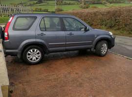 Honda CR-V, 2004 (54) Grey Estate, Manual Petrol, 101,050 miles