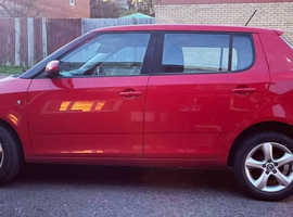 Skoda Fabia, 2011 (61) Red Hatchback, Manual Petrol, 90,000 miles