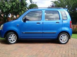Suzuki WAGON R+, 2002 (02) Blue Hatchback, Manual Petrol, 18,402 miles