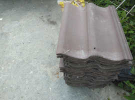 FREE- 20 x Light brown/terracotta roof files