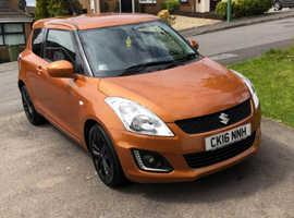 Suzuki Swift, 2016 (16) Orange Hatchback, Manual Petrol, 22,300 miles