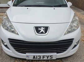 Peugeot 207, 2010 (60) White Hatchback, Manual Diesel, 45,975 miles