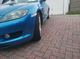 Mazda RX-8, 2004 (04) Blue Coupe, Manual Petrol, 50,172 miles
