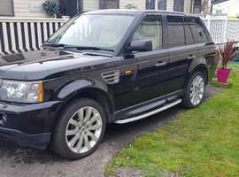 Land Rover Range Rover Sport, 2006 (55) Black Estate, Automatic Petrol, 104,000 miles