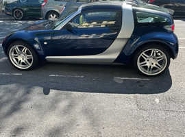 Smart Roadster Coupe, 2007 (56) Silver Convertible, Automatic Petrol, 23,487 miles