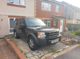 Land Rover Discovery, 2006 (06) Black Estate, Manual Diesel, 198,800 miles