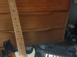 Childsize electric guitar and amp