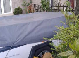 Camp-let Concorde Trailer Tent 2009 With Additional Annexe & Extras Marine Blue/Grey Isabella Canvas Camp-let Concorde ,circa 2009/2010 in Excellent c