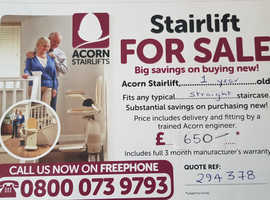 Acorn Stairlift ( 1 yr old)