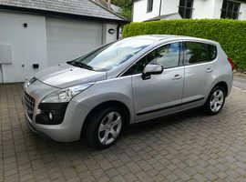 Peugeot 3008, 2011 (11) Silver Hatchback, Manual Petrol, 70,000 miles