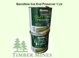BARRETTINE WOOD PRESERVER, DECKING OIL, CUT END TREATMENT