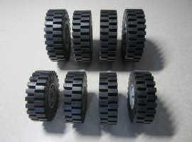 Vintage Lego Technic Mega Wheels