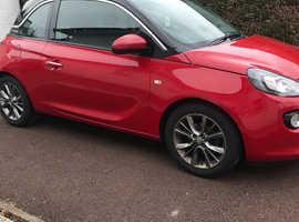 Vauxhall Adam, 2014 (14) Red Hatchback, Manual Petrol, 68,251 miles