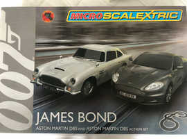 Micro Scalextric James Bond Set