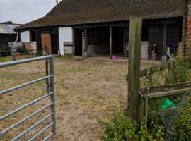 Two stables and all year turn out