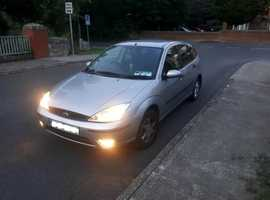 Ford Focus, 2003 (03) Silver Hatchback, Manual Petrol, 135,000 miles Collection from Sligo