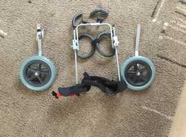 Doggie wheelchair