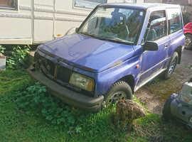 Suzuki Vitara, 1998 (R) Blue Estate, Manual Petrol, 69,000 miles