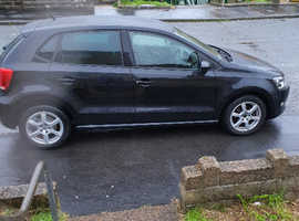 Volkswagen Polo, 2011 (11) Black Hatchback, Manual Petrol, 47,000 miles