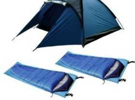 Lightweight tent package, ideal for motorbike/bike camping