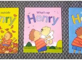 3 x Henry children's story books
