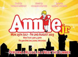 Summer Musical Project - Annie Jr