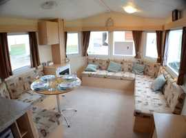 Cheap family static caravan for sale at Southerness Holiday Park nr Dumfries