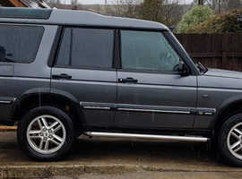 Land Rover Discovery, 2001 (51) Grey Estate, Automatic Diesel, 150,000 miles