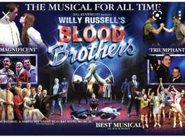 Blood Brothers at Theatre Severn Shrewsbury Saturday 30 October at 2.30pm