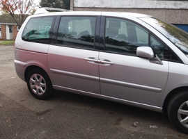 Peugeot 807, 2007 (07) Silver MPV, Automatic Petrol, 55,724 miles Disability up  front passenger car