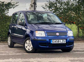 2008 (58) FIAT PANDA 1.2 DYNAMIC 5 door Hatchback in BLUE Mileage, Mot, Service History, Cam Belt Replaced