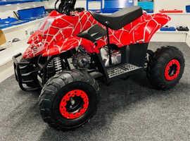 2021 adults quad 125cc mmx spyder automatic 4 Stoke key start off road motorbike